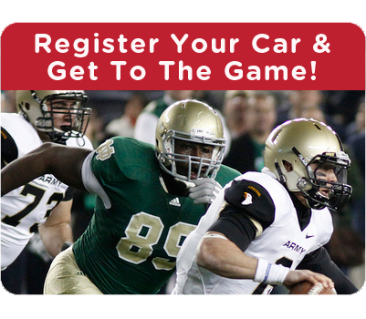 Get your WA State car registration and get to the game!